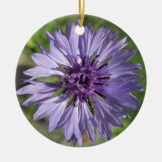 Verzierungs-- lila/lila des Junggesellen Knopf Keramik Ornament