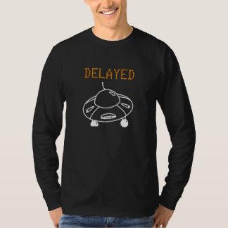 Verzögerter Flug durch UFO-Weiß T-Shirt