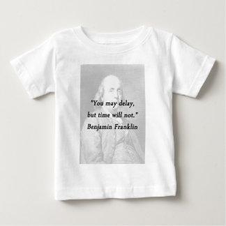 Verzögerung - Benjamin Franklin Baby T-shirt