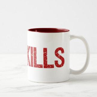 Verzögerung tötet Gamers Kaffee Haferl