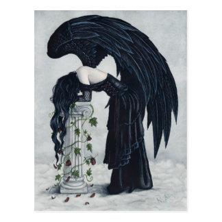Verzweiflungs-Engels-Postkarte Postkarte