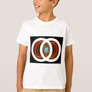 Vesica Piscis Hourglass-Nebelfleck T-Shirt