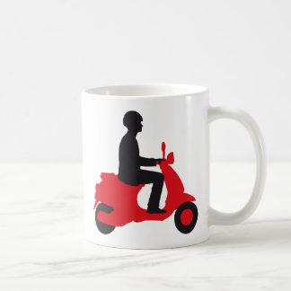 Vespa scooter kaffeetasse
