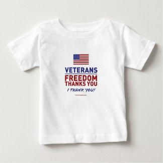 Veterane, Freiheit dankt Ihnen Baby T-shirt