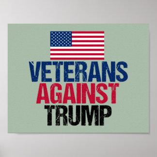 Veterane gegen Trumpf Poster