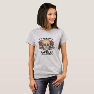 Veteranen-Party die Tätowierungs-des T - Shirt