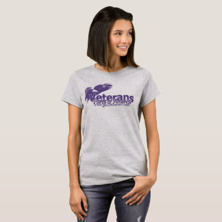 Veteranen-Party von Amerika-Adler und von Logo-T - T-Shirt