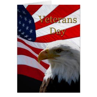 Veteranen-Tagesgruß-Karte Grußkarte