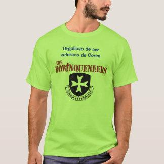 Veterano de Corea - Borinqueneers T - Shirt