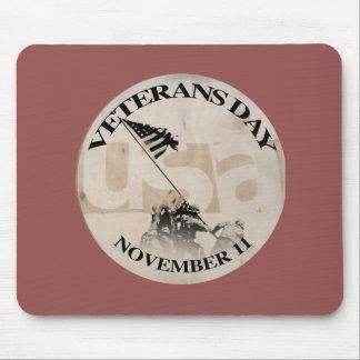 VETERANS DAY NOVEMBER 11 MOUSEPAD