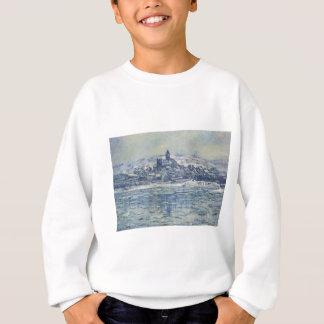 Vetheuil, Eisschollen durch Claude Monet Sweatshirt