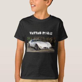 Vettes Felsen! Korvettestingray-T - Shirt 1975