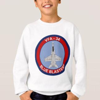 VFA - Geschwader des Kämpfer-34 - blaue Bläser Sweatshirt
