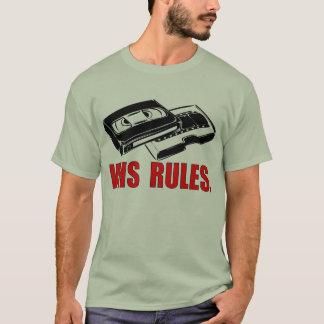 VHS ordnet T - Shirt an