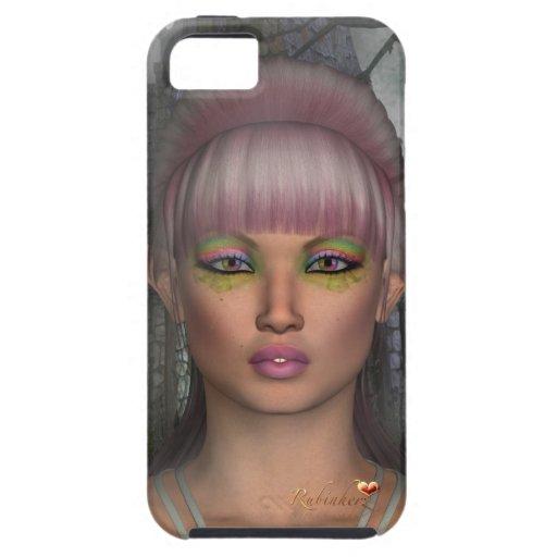 Vibe iPhone5 Case Hülle Cover Fantasy Elfe Tonyaa iPhone 5 Etui