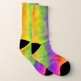 Vibrierende Aurora-Socken Socken