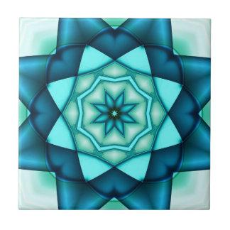 Vibrierende blaue Türkis-Keramik-Fliese Keramikfliese