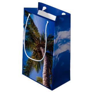 Vibrierende blauer Himmel-tropische Kleine Geschenktüte