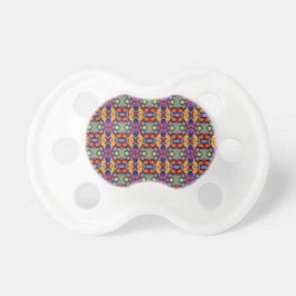 Vibrierende festliche kleine Kreise der Farbe Schnuller