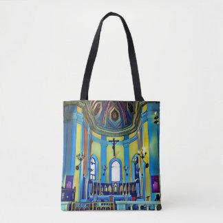 Vibrierende künstlerische historische Kirche San Tasche