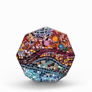 Vibrierende Mosaik-Wand-Kunst Acryl Auszeichnung