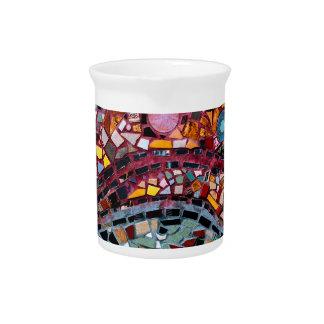 Vibrierende Mosaik-Wand-Kunst Krug