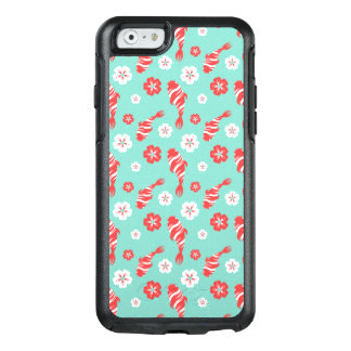 Vibrierende rote koi Fischschwimmen auf tadellosem OtterBox iPhone 6/6s Hülle