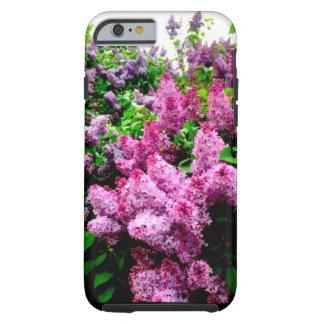 Vibrierender lila Telefon-Kasten Tough iPhone 6 Hülle