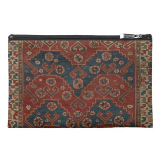 Vibrierender türkischer Teppich-Organisator Reisekulturtasche