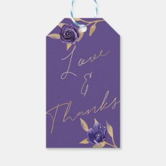Vibrierendes blühendes Blumen| ultravioletter u. Geschenkanhänger