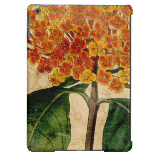 Vibrierendes Blumeni iPad Air Hülle
