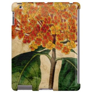 Vibrierendes Blumeni iPad Hülle