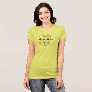 Vibrierendes Mamma-Spiel-starker T - Shirt