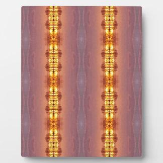 Vibrierendes mehrfarbiges künstlerisches Muster Fotoplatte