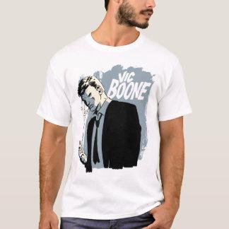 Vic Boone, schwermütiges Blau T-Shirt