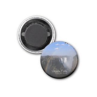 Victoria-Fall 1 Runder Magnet 3,2 Cm