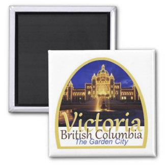 VICTORIA Kanada Quadratischer Magnet