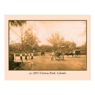 Victoria-Park Colombo Ceylon (Sri Lanka) Postkarte