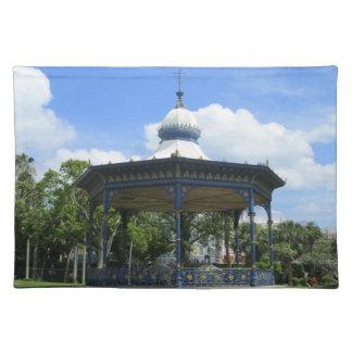 Victoria-ParkBandstand Stofftischset