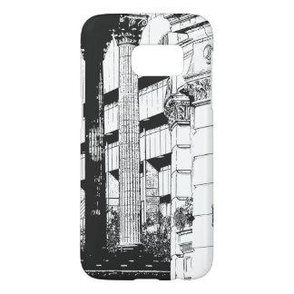 Victoria quadratisches Samsung 7 rufen Fall an
