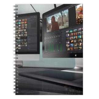 Videoredigieren Notizblock