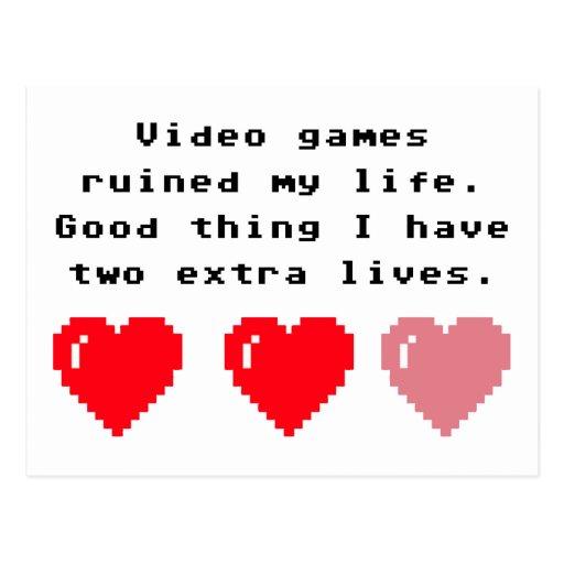 Videospiel-Aussenseiter Postkarten
