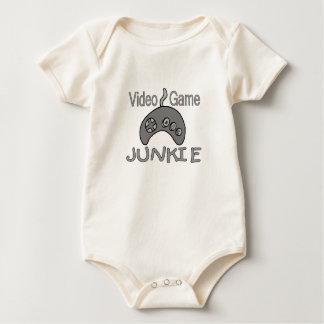 Videospiel-Junkie Baby Strampler