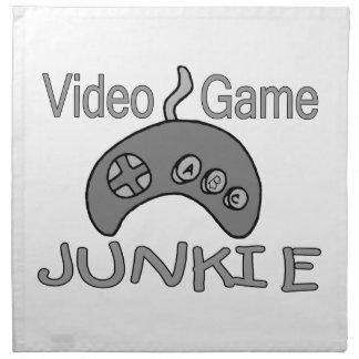Videospiel-Junkie Serviette