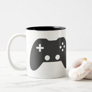 Videospiel-Prüfer-Tasse Zweifarbige Tasse