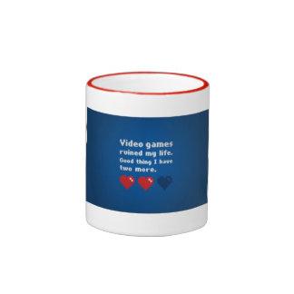 Videospiel-Tasse Ringer Tasse