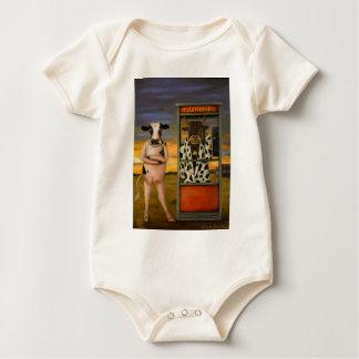 Vieh-Anruf Baby Strampler