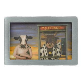 Vieh-Anruf Rechteckige Gürtelschnallen
