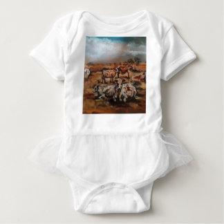 Vieh Baby Strampler