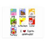 Vieh-T-Shirts und Geschenke Postkarten
